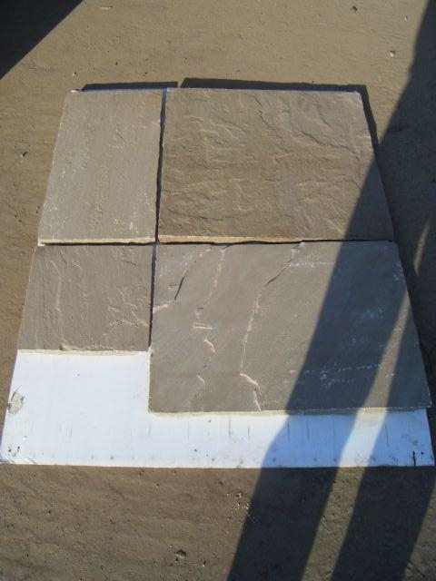 Raj Green Natural Indian Stone