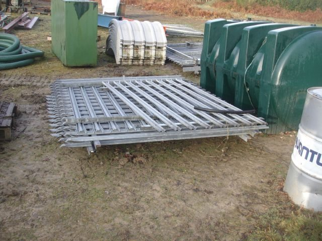 Metal Fencing Panels