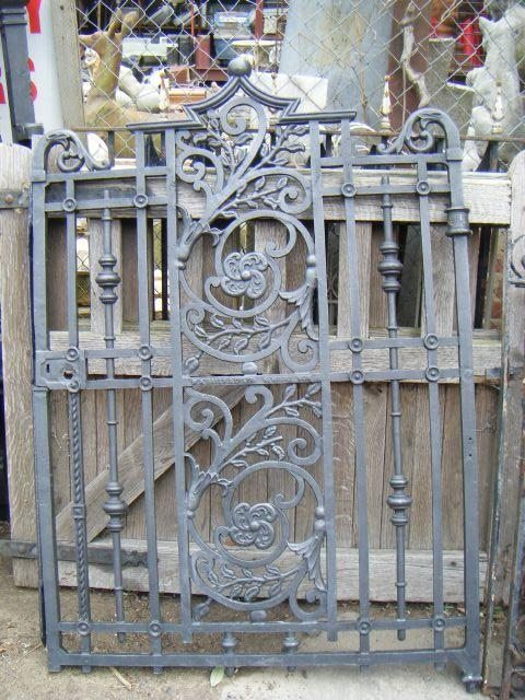 Cast Iron Gate