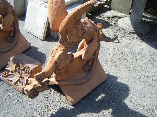 Ridge Finials Dragon Gargoyles
