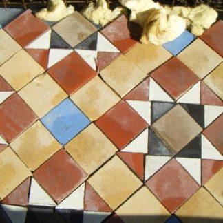 Genuine Victorian Floor Tiles