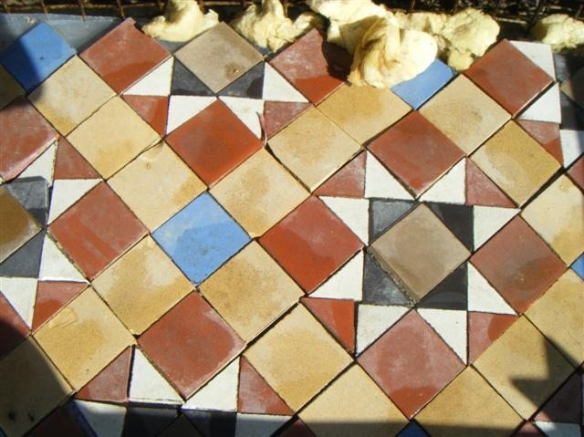 Genuine Victorian Floor Tiles