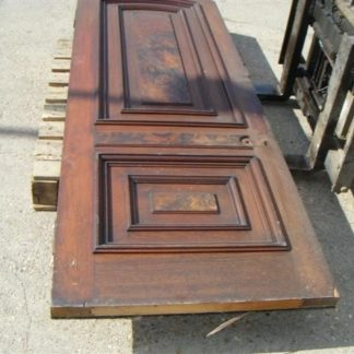 Mahogany Look Door