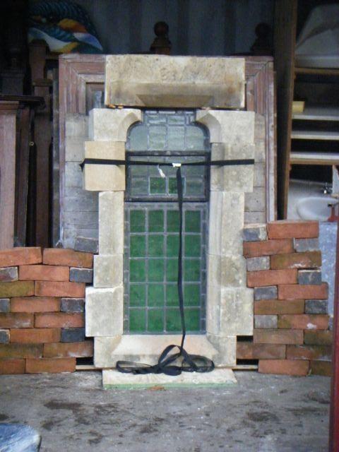 Stone Church Windows