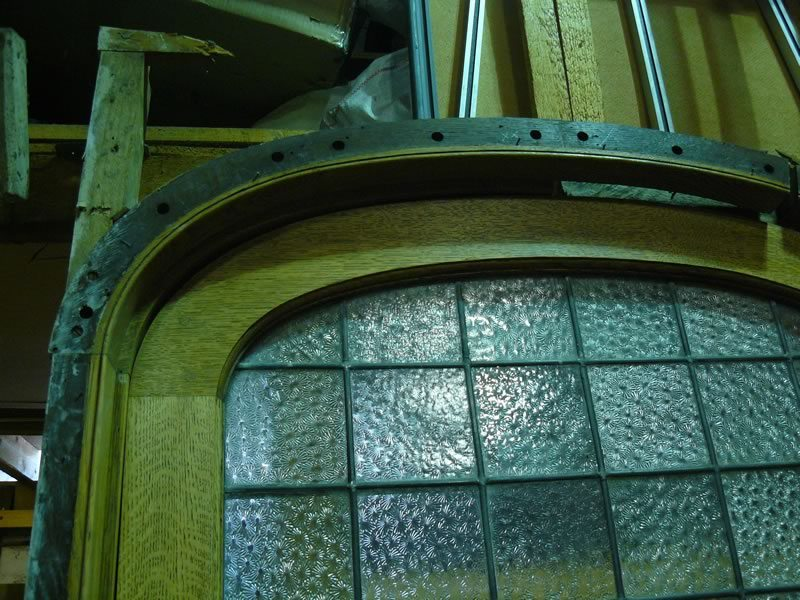 Victorian Arched Door