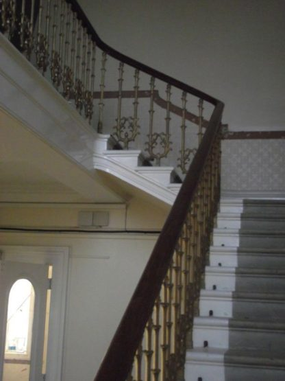 Cast iron spindles & staircase hand rail
