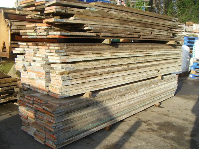 Second hand Reclaimed Scaffold Boards