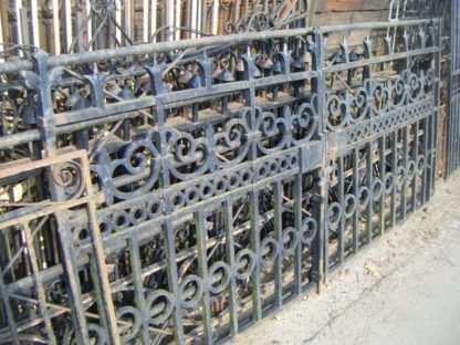 Reclaimed Cast Iron Entrance Gates
