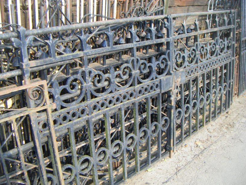 Reclaimed Cast Iron Entrance Gates
