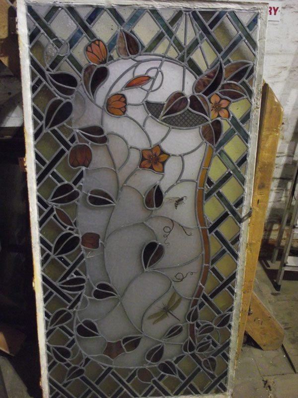 Genuine stained glass window
