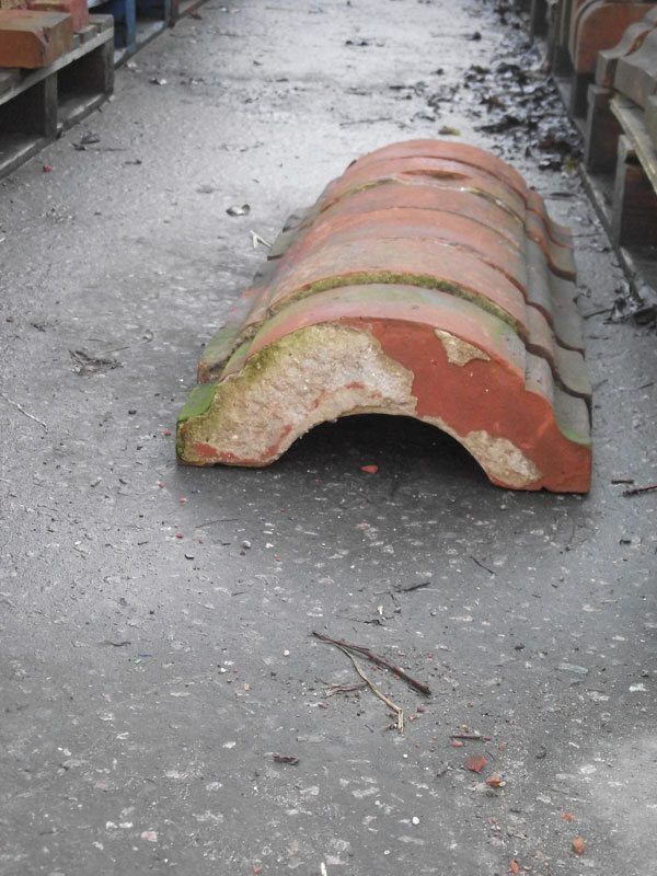 Unusual Reclaimed Coping Bricks