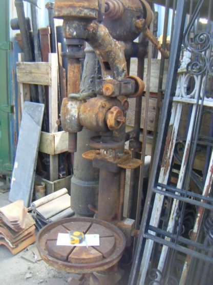 Old Belt Driven Pillar