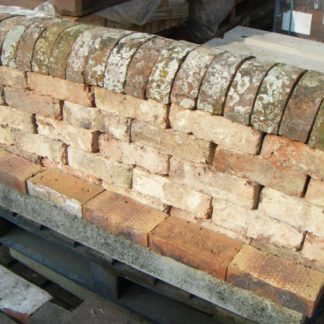 Reclaimed Coping bricks