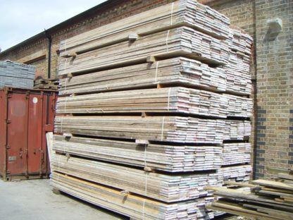 Second-hand scaffold boards