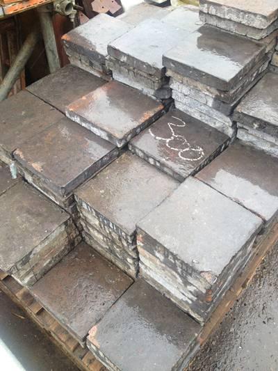 Black Quarry Tiles 9x9