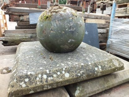 Original pier caps stone with balls