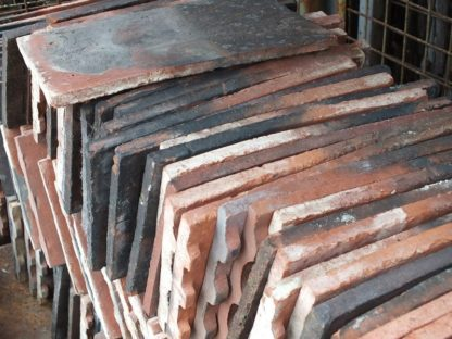 Selection of roof tiles