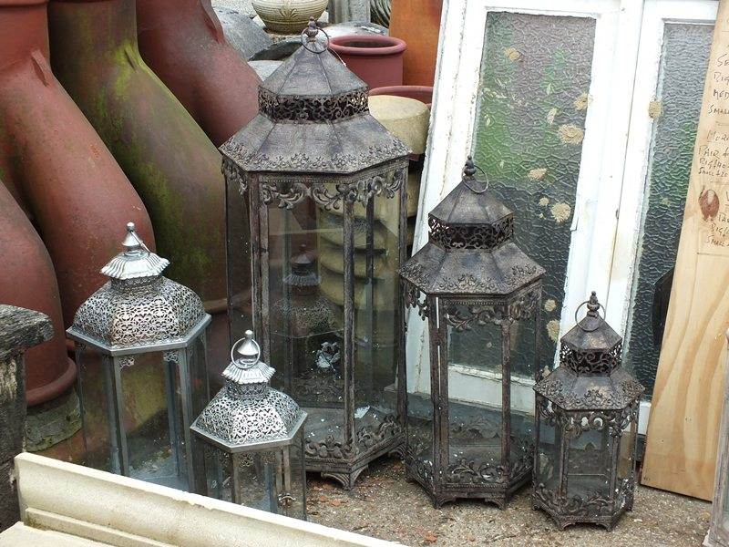 Reproduction metal lamps