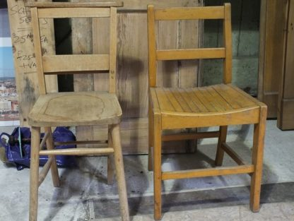 School Chairs from Worth Abbey