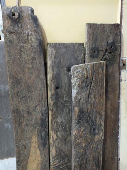 Sea Groyne Oak Planks Dorton Reclamation Yard Sussex