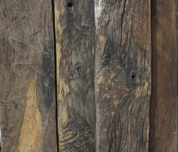 Sea Groyne Oak Planks