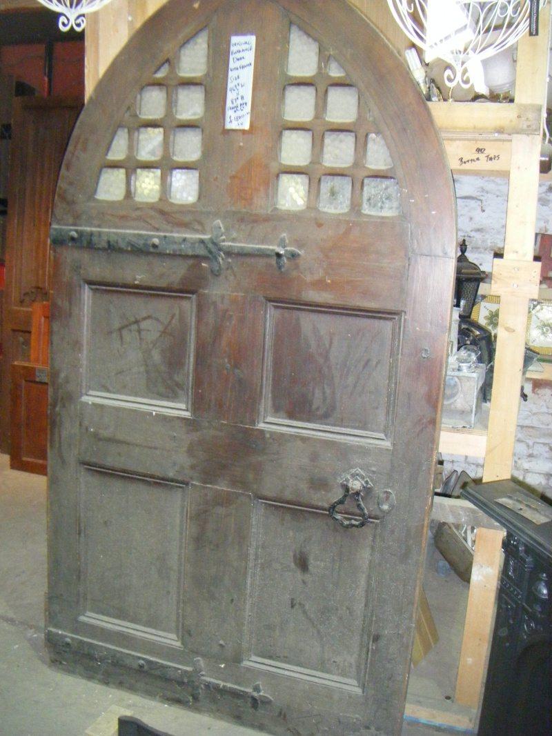 Exterior Arched Door