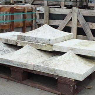 Stone pier caps