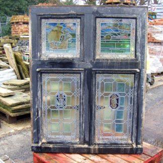 Unique original stained glass window