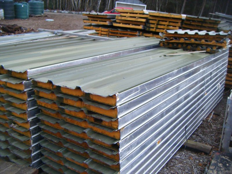 Box Profile Roof Sheets With Insulation