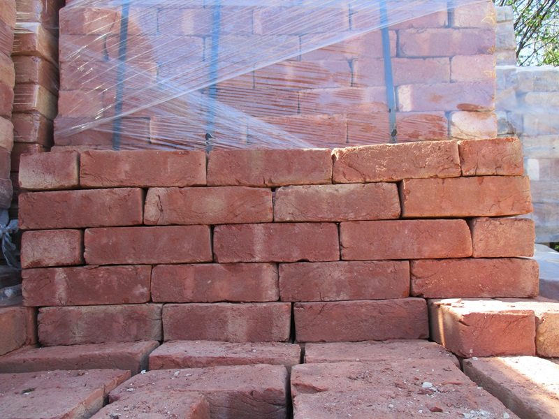 Reproduction red bricks