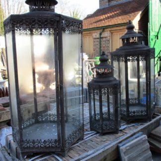 Small, Medium and Large Lanterns