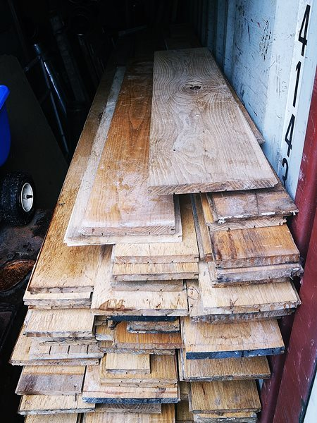 Used Oak Plank Flooring