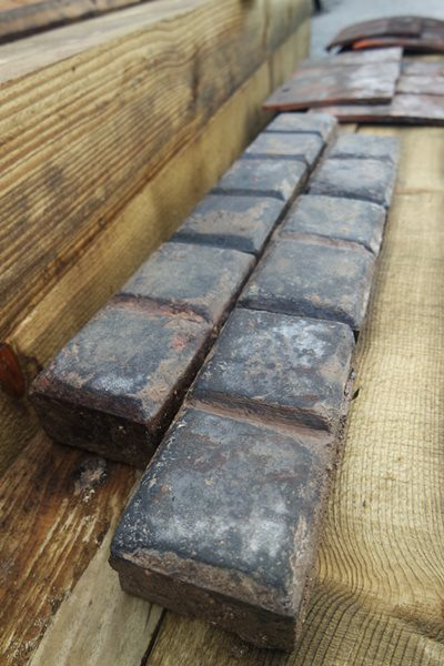 Reclaimed Stable Floor Bricks