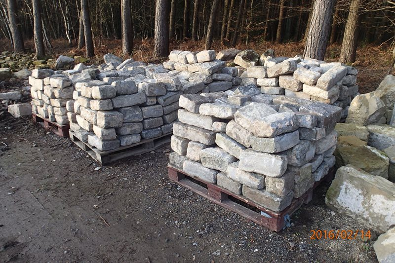 Granite Building Blocks and Coping