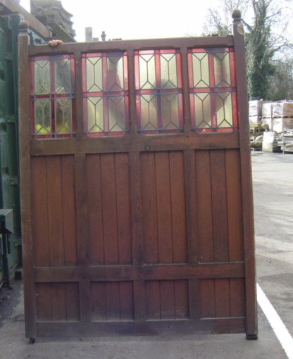 Stained Glass and Timber Dividers