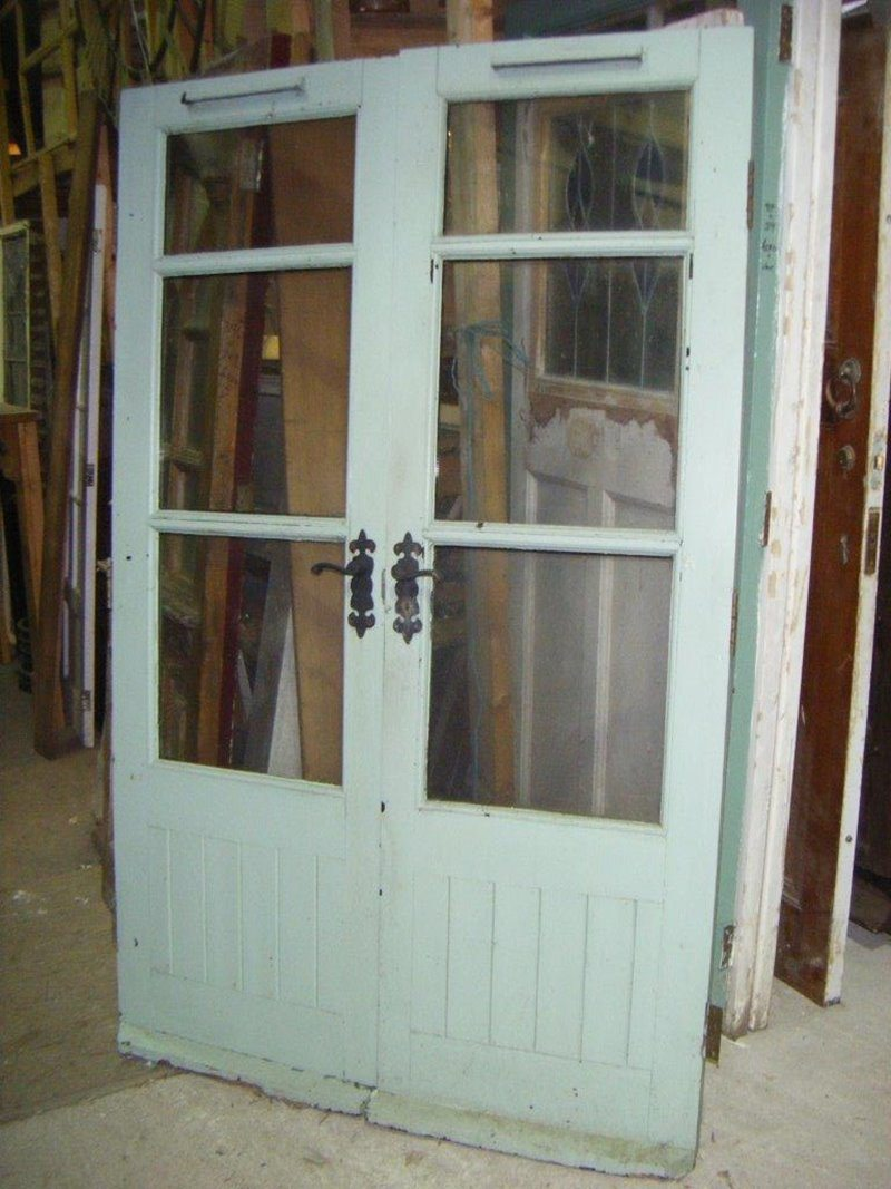Reclaimed French Doors