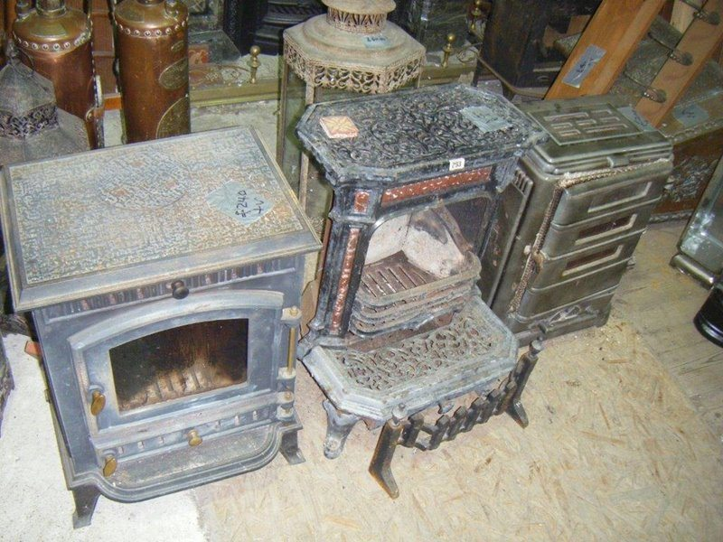 Reclaimed Wood Burners