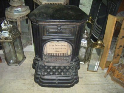 Original Old Wood Burner