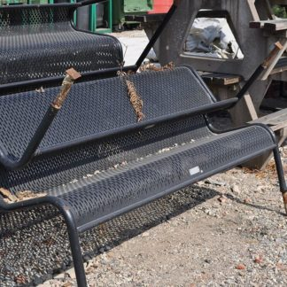 Park Type Benches Metal / Wood