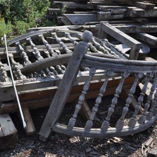 Oak Handrail & Steps