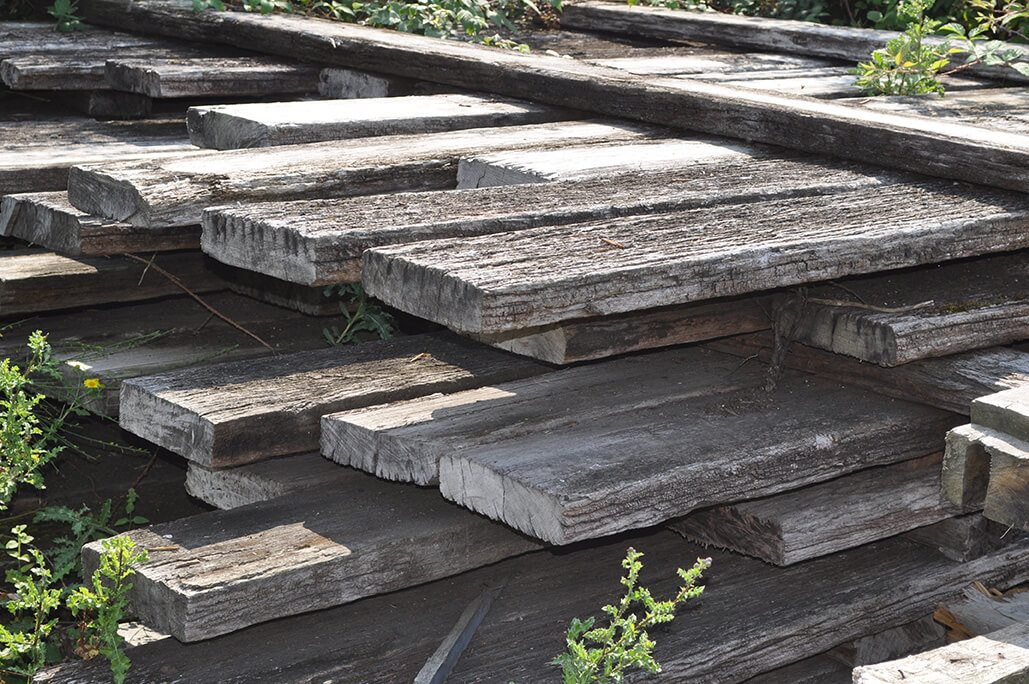 Hardwood Jetty Timber from Newhaven