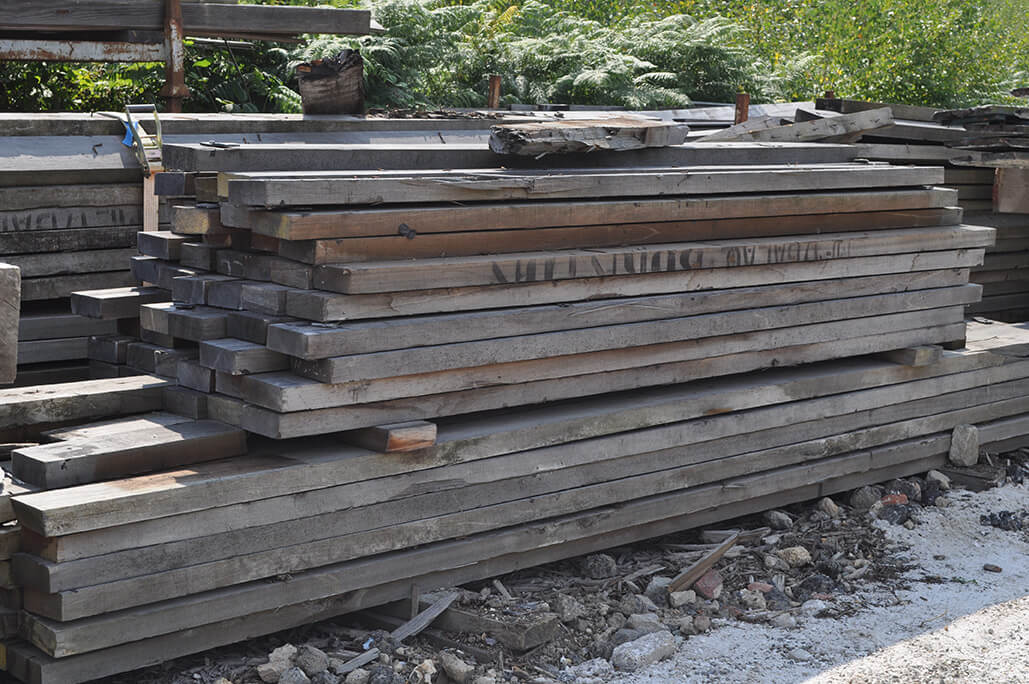 Brighton Pier Root Deck Hardwood Timbers