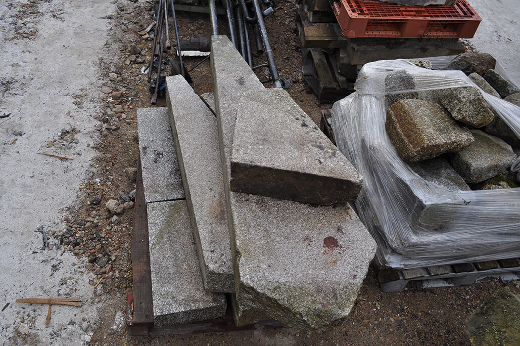 Selection of Shaped Granite