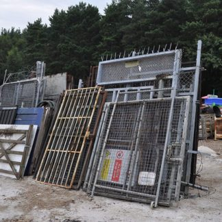 Selection of Site Gates – Pail/Mesh/Rail