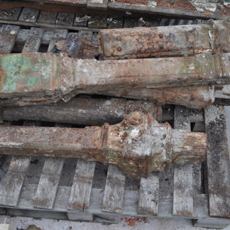 Pallet of Broken Column Sections - Detailed