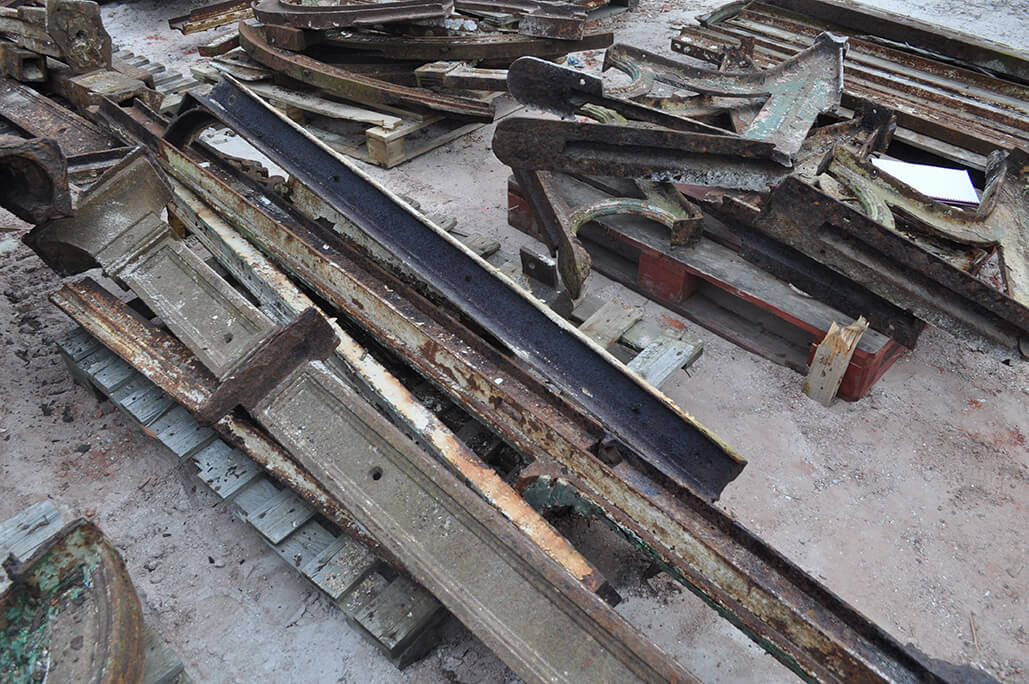 Pallet of Scrap Sections
