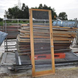 Wood Frame Mesh Doors
