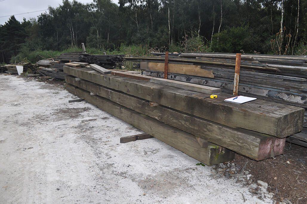Bulk Bridge Timbers