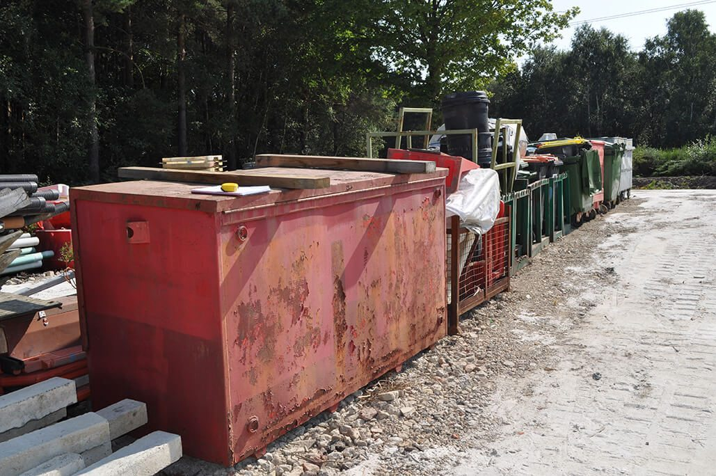 Lockable Gas Storage Container