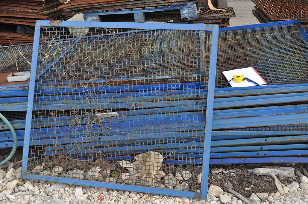 Metal Cage Sections - Bolt Together